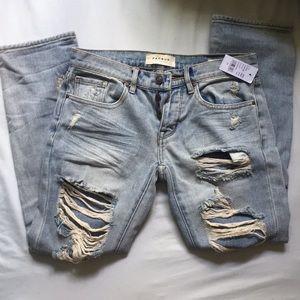 Boyfriend cut Pacsun jeans